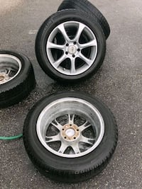 Winter tires and wheels set Richmond, V6X 1Z7