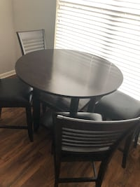 Dark Brown Table and Chairs  Alexandria, 22314