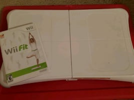 Wii Fit Game & Board