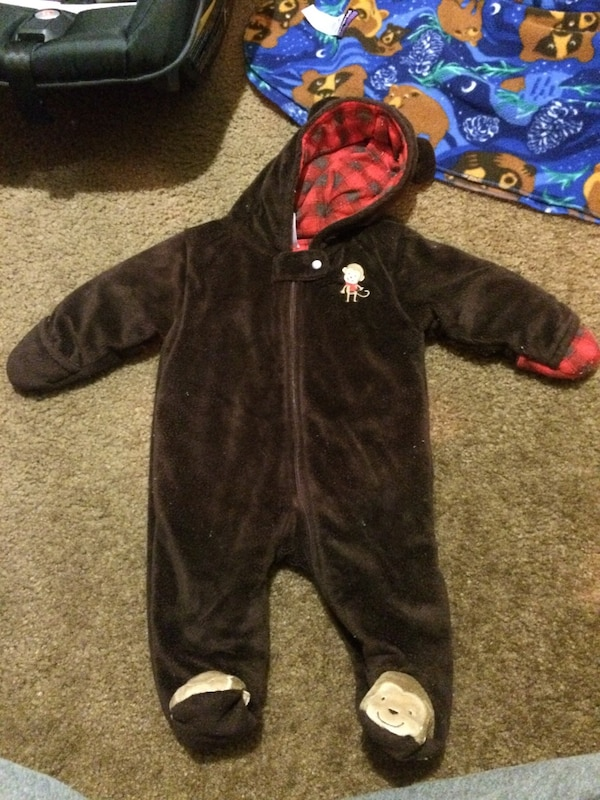 72cfd444f0de Used baby s brown monkey jumpsuit for sale in Oxnard - letgo