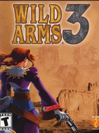 Sony PS1 Wild Arms 3 game poster Edmonton, T5L 0S3