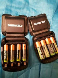 *** Amazing deals***2 Duracell battery Chargers w/ 20 batteries