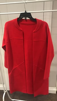 Brand new red coat, S-m size Toronto, M5H 1H1