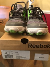 Kids size 13 Reebok running shoes