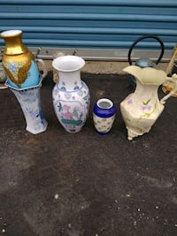 Various Vases For Sale