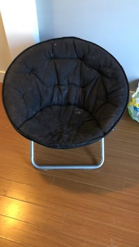 black and gray moon chair Surrey, V3Z