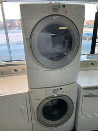 Whirlpool front load washer dryer set good working condition with warranty  Woodbridge, 22191