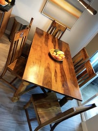 Mission Style Dining Table needs new loving home San Diego, 92104
