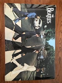 The Beatles laminated poster picture display  Georgetown, L7G 6C3