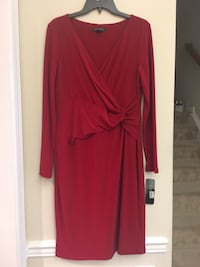 Ralph Lauren Women's red long-sleeved dress Gainesville, 20155
