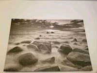 Large Grayscale Print on Gallery Canvas Toronto, M4R 1A1