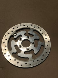 Rear disc brake rotor. For Harley Road King. May fit others.  Perkasie, 18944