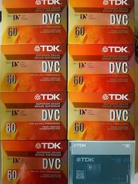 Tapes for all DVC camcorders I have 8 Hamilton