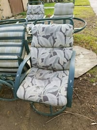 gray and green camouflage camping chair Jurupa Valley, 92509