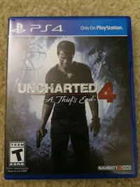 Uncharted 4 ps4 Fairfax, 22031