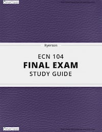 ECN104 midterm and exam study sheet