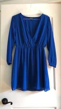 blue long-sleeved dress Oceanport, 07757