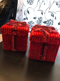 2 Sequined Gift Boxes Lafayette, 70508