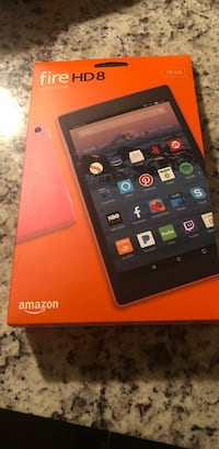 Fire HD8. Never opened. Won as a door prize   Aldie, 20105