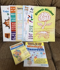 Teacher Classroom Resource GROWTH  MINDSET PACKAGE - Books and Posters Port Orange, 32128