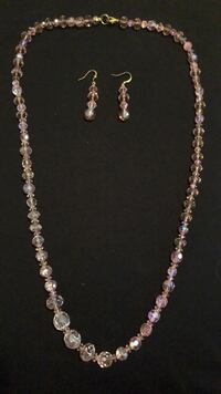 Earrings and Necklace Smith-Ennismore-Lakefield, K0L