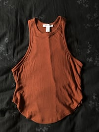 orange cropped tank top Tustin, 92780