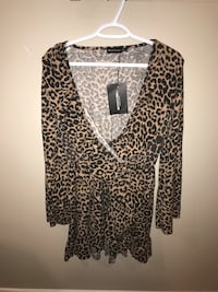 Women's Leopard Dress Surrey