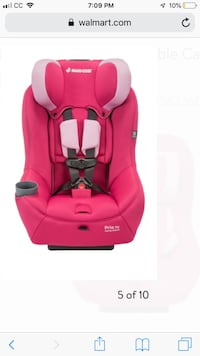 Brand new Infant girl car seat with base