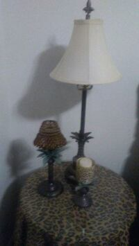 Palm tree lamp and candle set Grand Junction, 81503