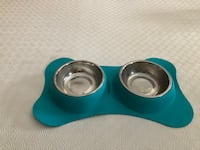 Double dog bowl, pink dog bowl and dog beds Vaughan, L4H 0C5