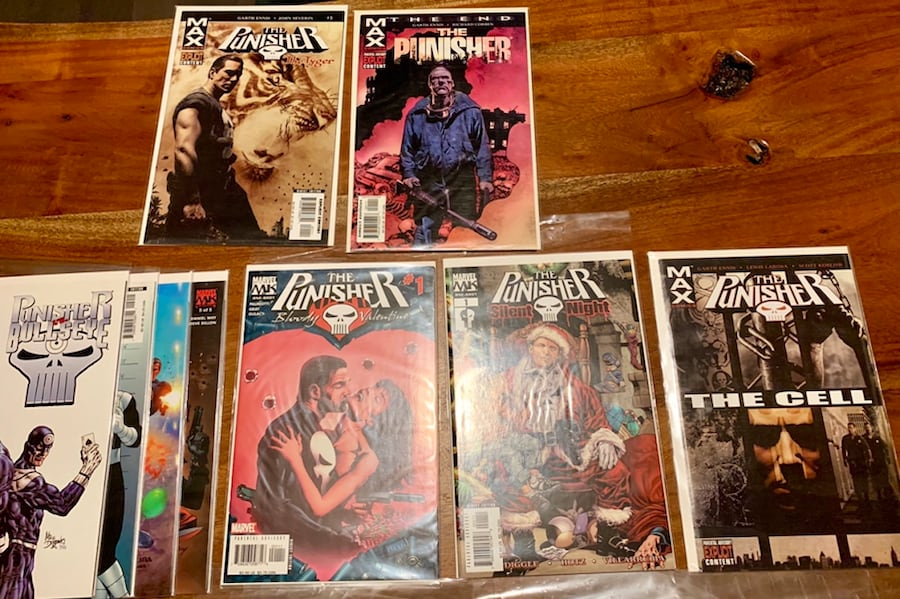 Marvel MAX Punisher Comic Collection! #1-55 (ex.29) with Specials 1f6abb35-887e-4690-9eeb-8cbb53d84faa