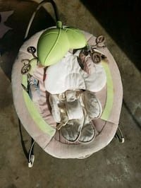 baby's gray and green bouncer Gaithersburg, 20879
