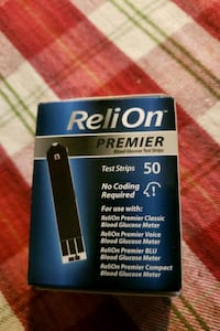 Test Strips for ReliOn meter. Falling Waters, 25419
