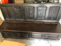 1682 Church Pew Bench (England) Miami, 33133