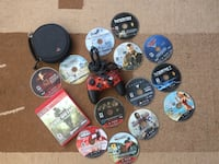 14 PS3 games and controller