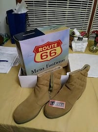 Leather Boots Flushing, 48433