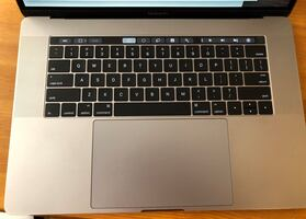 15 inch MacBook Pro with Touch Bar