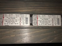 Foo Fighters tickets Vaughan, L6A 1P6