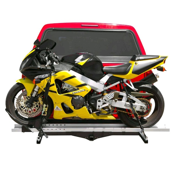 Trailer Hitch Motorcycle Carrier >> Motorcycle Carrier 4 Hitch On Truck Not A Trailer