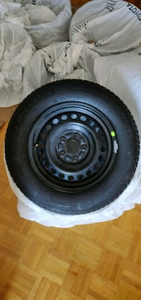 Michelin X Ice 205 65 15 tires and steel rim