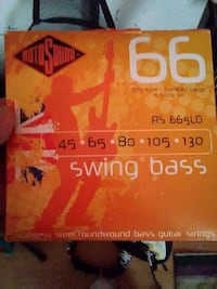 66 Swing Bass Stainless steel Round Wound bass guitar string box Lakewood, 80226