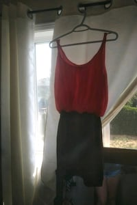women's red sleeveless dress Barrie, L4N