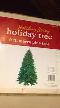 PVC needle Sierra Pine Christmas tree 9 ft tree cheap Rockville, 20852