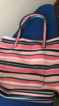 White, red, and blue striped tote bag Richmond, 23230