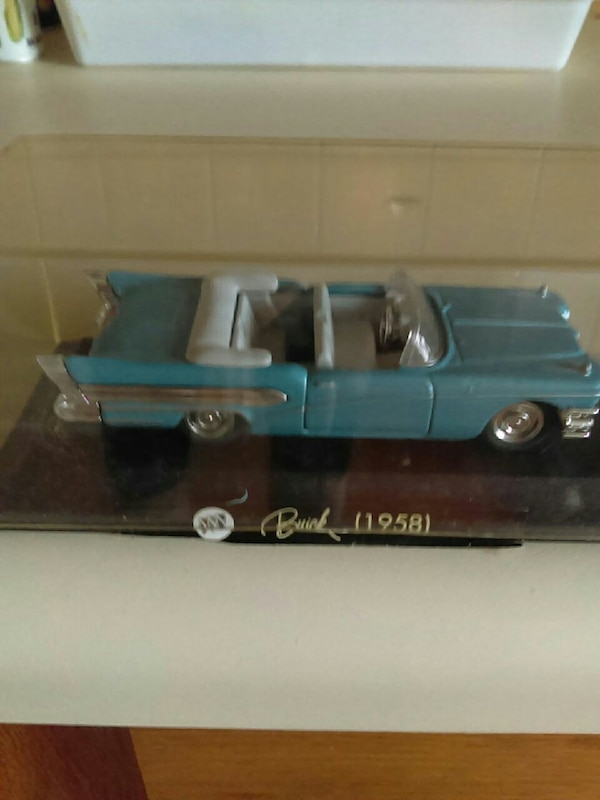 1958 Buick convertible die-cast model