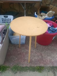 Table  solid wood display table