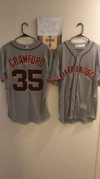 Crawford jerseys... Med and XL