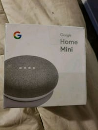 black Google Home Mini speaker box Brampton, L6X 2S9