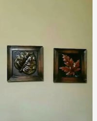 two green and brown leaf wall decors Smyrna, 37167