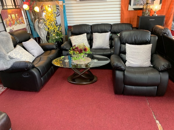 "Sofa set 3pcs Recliners elegance "" Big Sale"